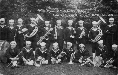 Navy Band Great Lakes - 1918