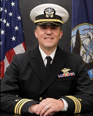 Command Chaplain, LCDR William D. Butts, CHC, USN